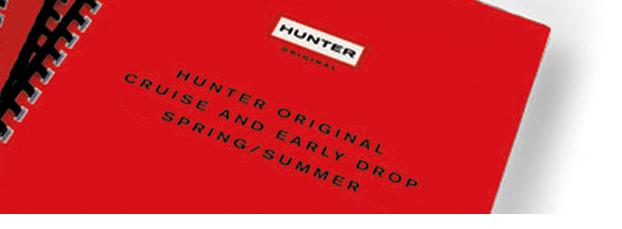 printed brochure in london for hunter